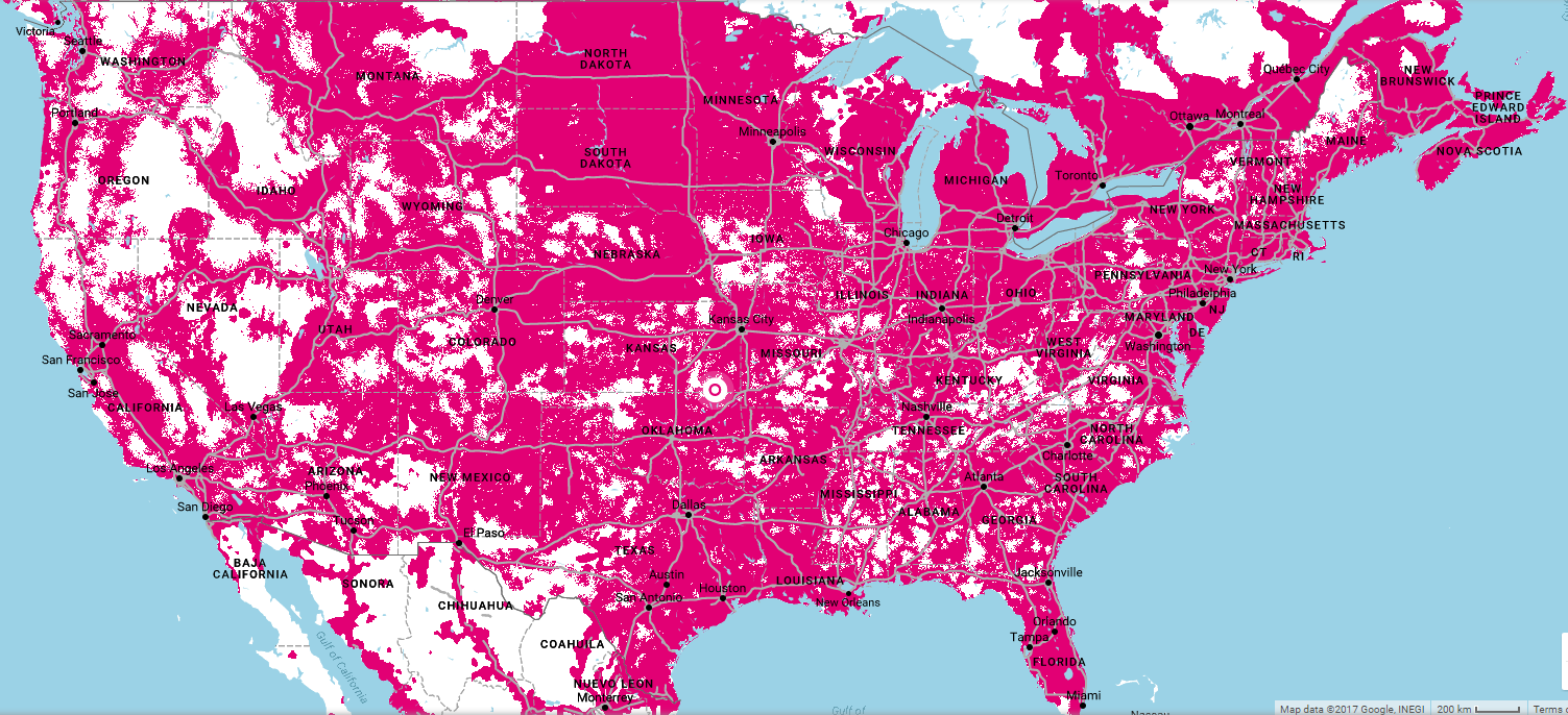 Ultra Mobile Powered By TMobile SIMCardSG - T mobile us coverage map